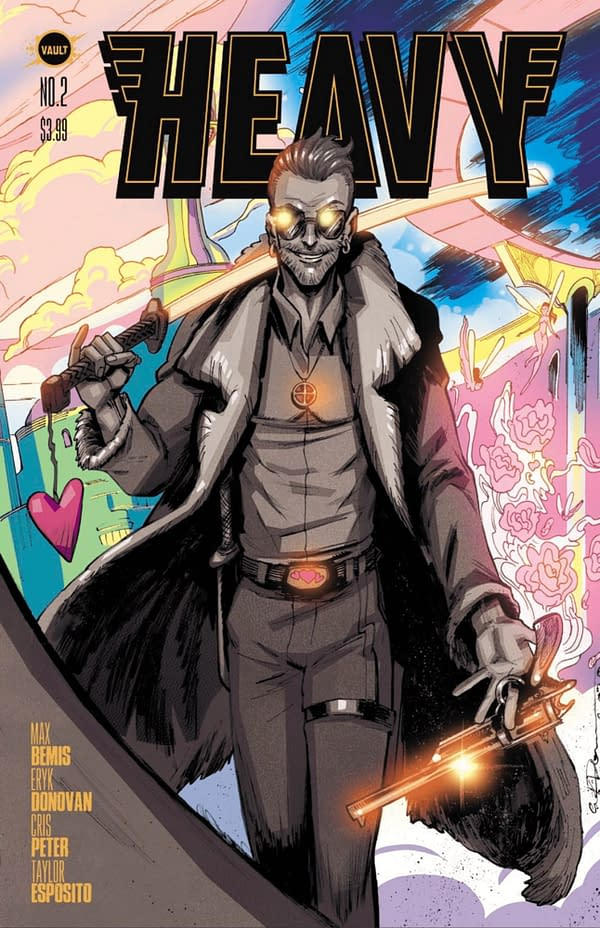 Heavy #2 cover. Credit: Vault Comics