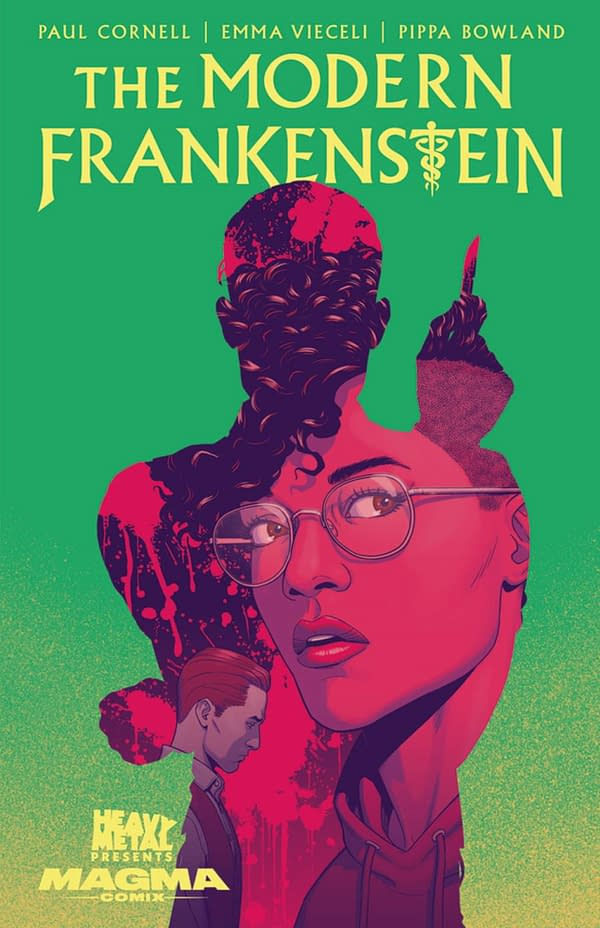 Paul Cornell, Emma Vieceli's Modern Frankenstein From Heavy Metal