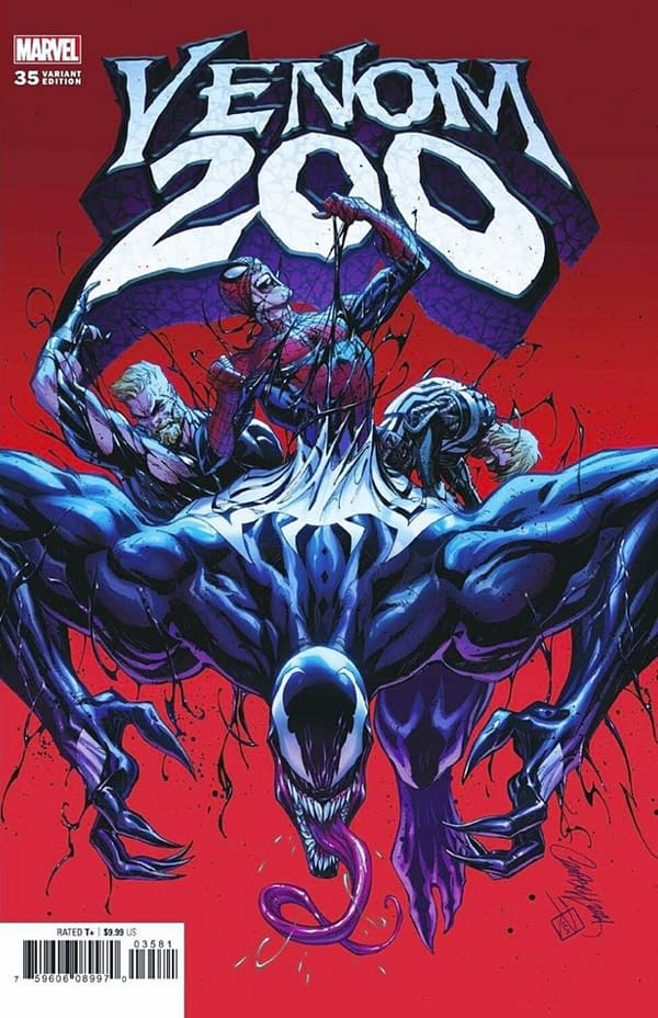 Philip Kennedy Johnson & Ron Lim Join Venom #200, But Not Rob Liefeld