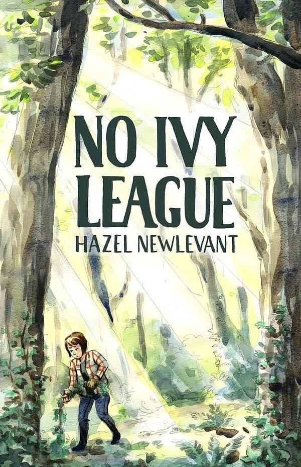 "Lion Forge To Publish Hazel Newlevant's Debut OGN About White Privilege, ""No Ivy League"""
