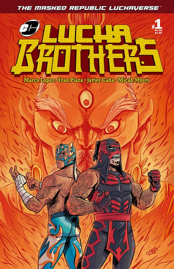 Penta Zero M and Rey Fenix Enter the Luchaverse in Exclusive Preview of Lucha Brothers One-Shot
