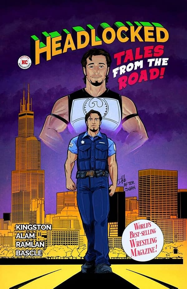 The Beacon, a New Headlocked One-Shot Co-Written by Mustafa Ali, is 99 Cents for Christmas Eve