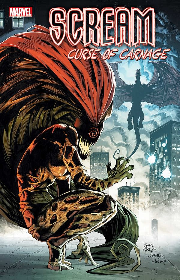 Garry Brown Reaches Over To Help Chris Mooneyham on Scream: Curse Of Carnage #4