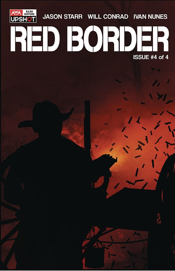 The Red Border cover. Credit: AWA Studios