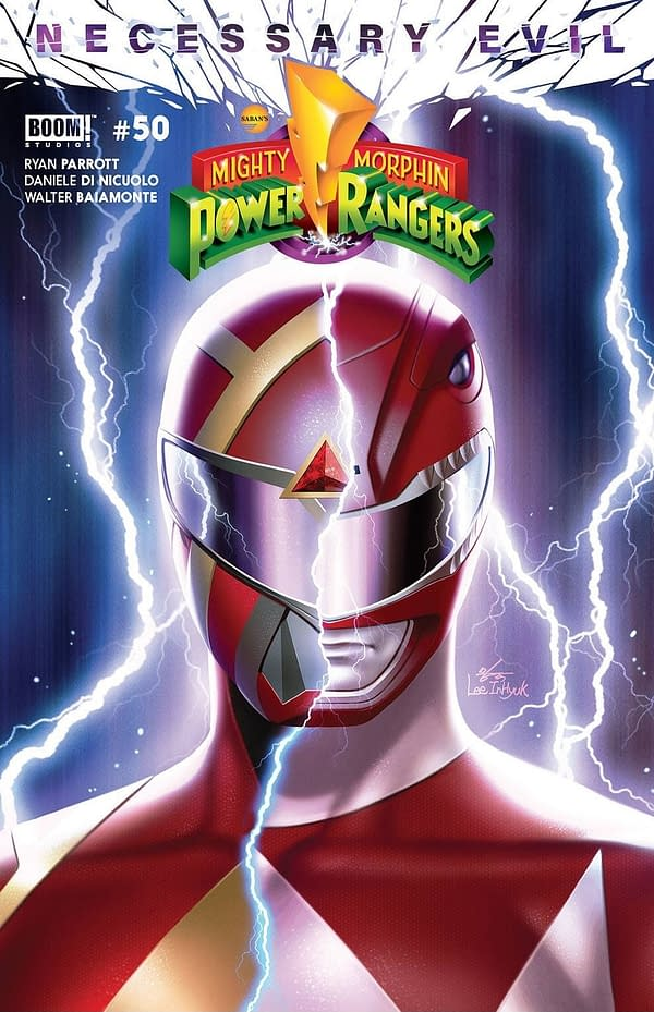 Mighty Morphin Power Rangers #50 FOC Variant Cover