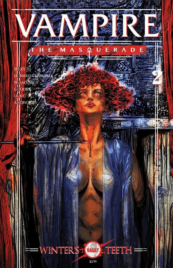 Vampire: The Masquerade #2 cover. Credit: Vault Comics