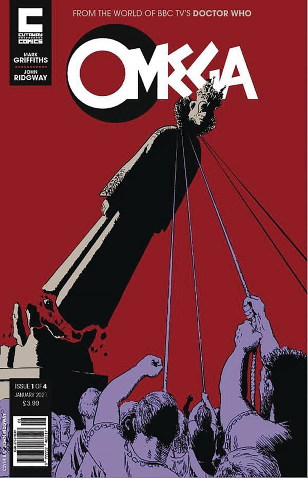 Omega - A New Doctorless Doctor Who Comic For 2021