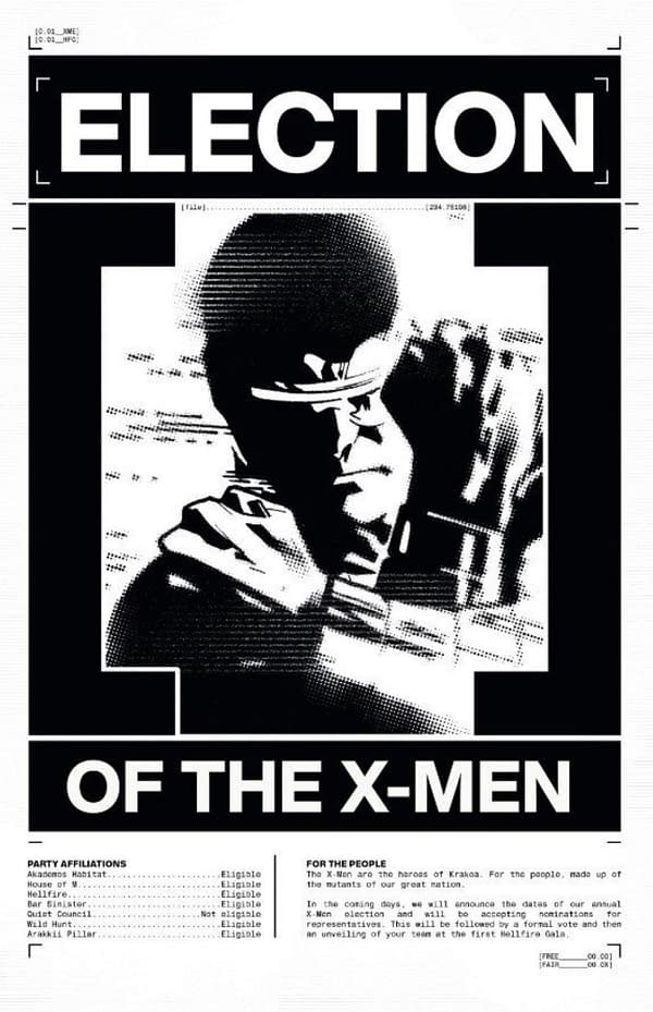 Tomorrow Night You Will Be Able To Vote For The X-Men