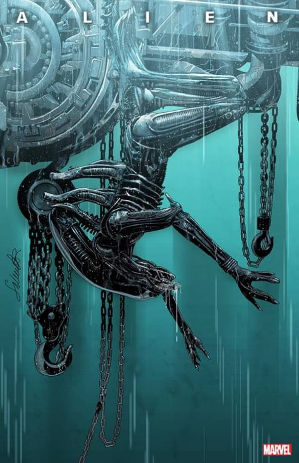 PrintWatch: Marvel Comics' Alien #1 Sold 300,000, Gets Second Printing