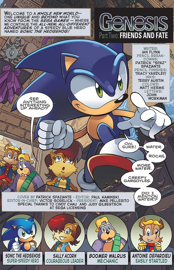 Preview: Sonic The Hedgehog 227 – 20th Anniversary Continues