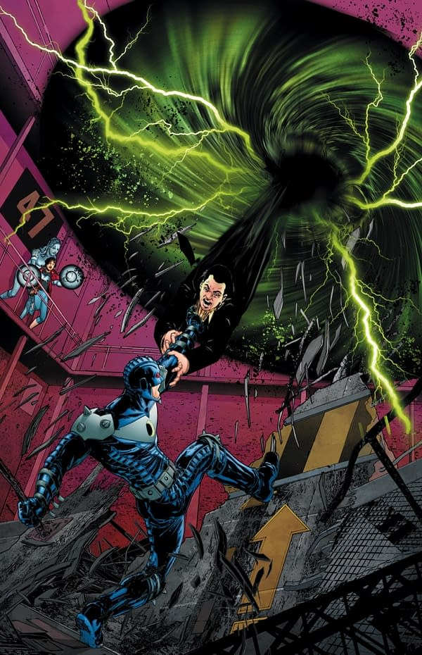 Paul Cornell Off Stormwatch After Issue 6