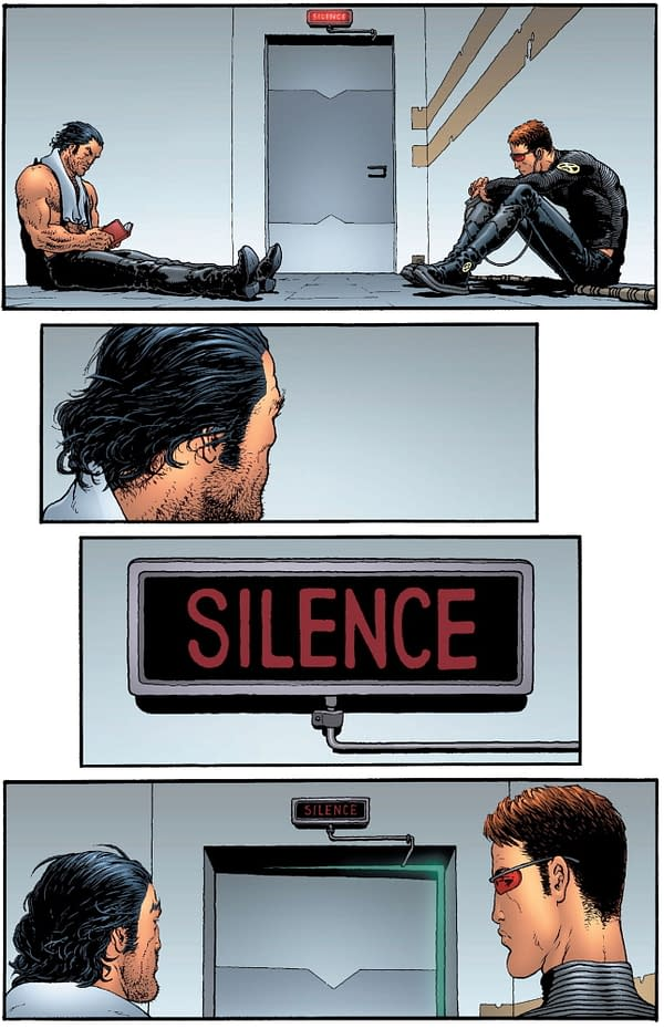 Giant-Size X-Men: Jean Grey & Emma Frost – Silence, Psychic Rescue In Progress from New X-Men #121, Reprised (Spoiler)
