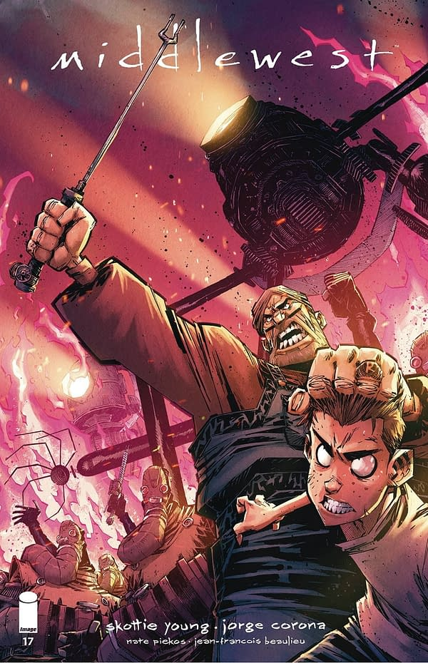 Middlewest #17 Cover