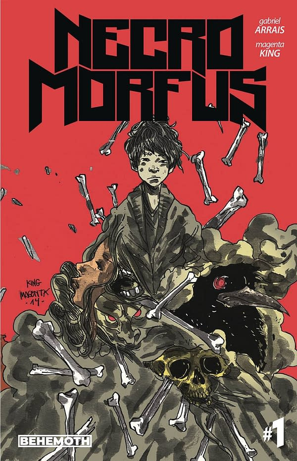 Behemoth Comics Launches Necromorfus #1 in October 2020 Solicitations