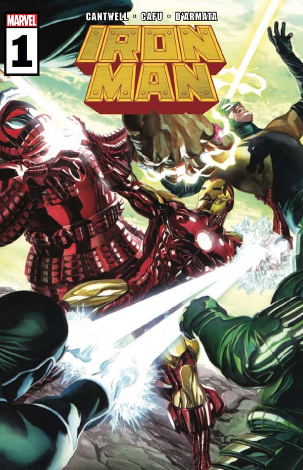 Iron Man #1 Review: Retool, Rebrand and Reload
