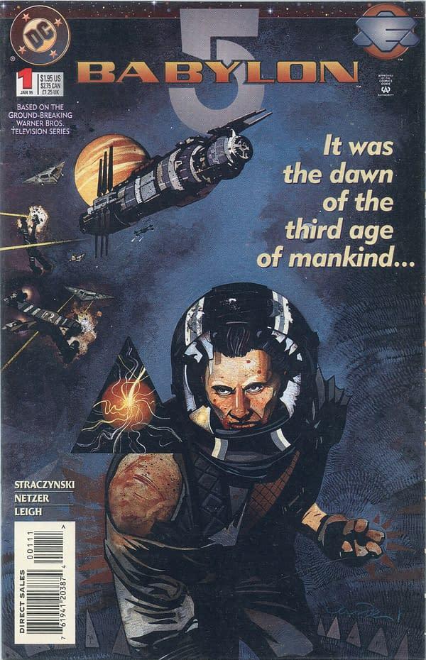 Babylon 5 #1 Cover
