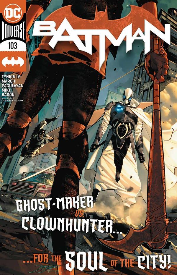 Batman #103 Review: Somewhat Entertaining