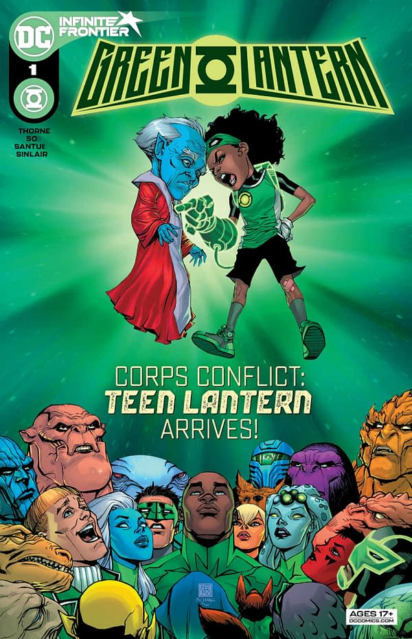 Green Lantern #1 Review: New Ideas And Fresh Takes