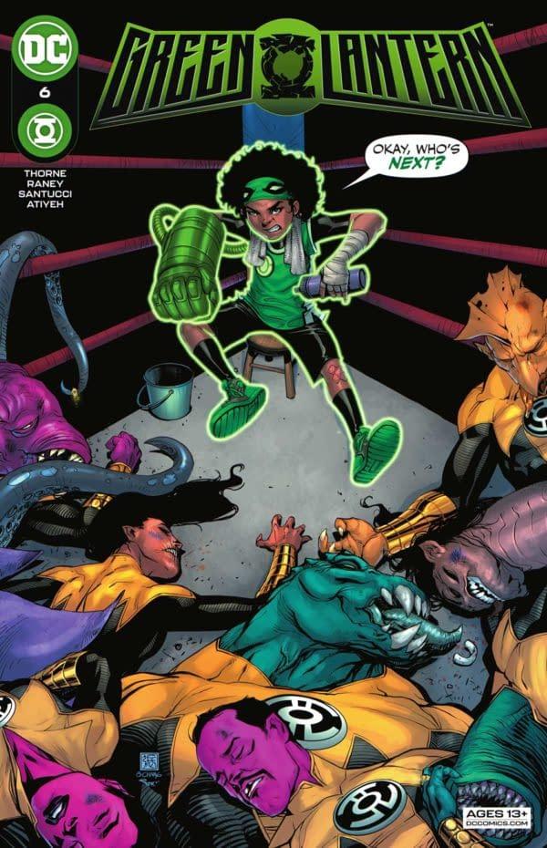 Green Lantern #6 Review: Engaging Superhero Stories