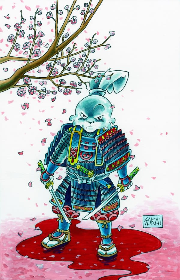 Stan Sakai's Usagi Yojimbo Leaves Dark Horse for IDW