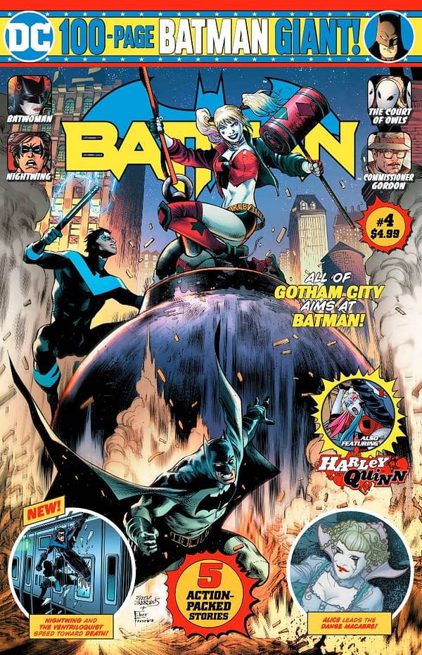DC 100-Page Giants – Mark Russell and Ryan Benjamin on Batman #4, Gail Simone and Clayton Henry on Flash #4