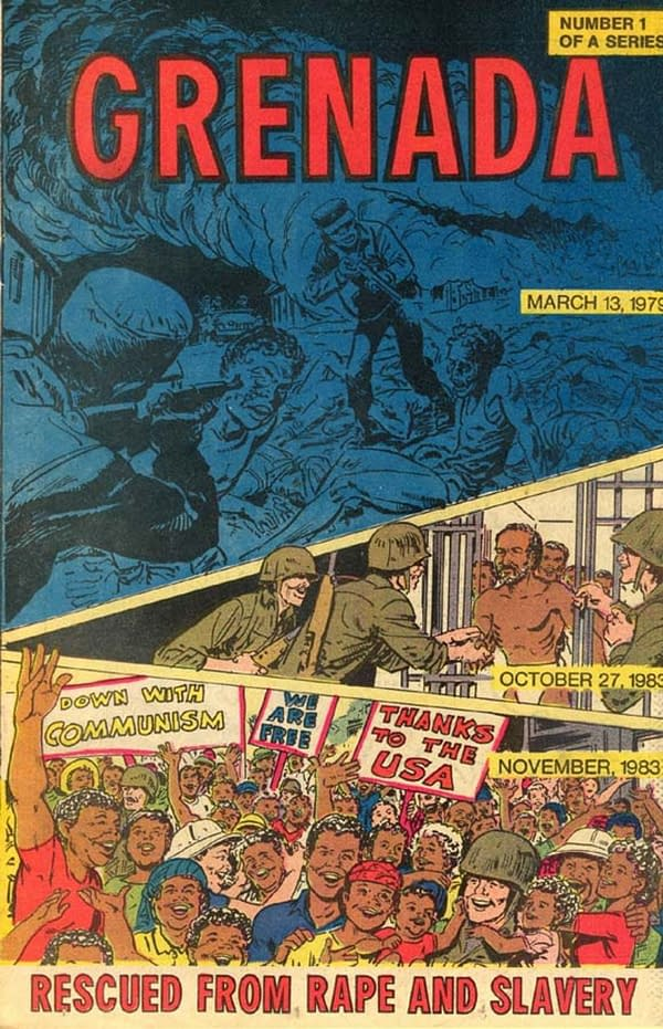 Justifying the 1983 Invasion of Grenada With COMICS FOR KIDS!