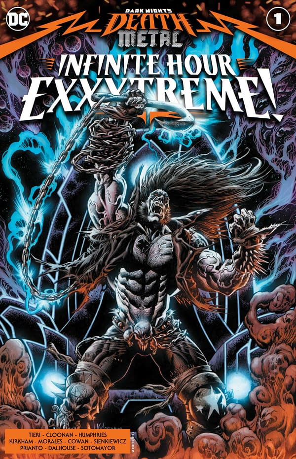 Dark Nights: Death Metal Infinite Hours Exxxtreme! #1 Review: Frag-Tastic