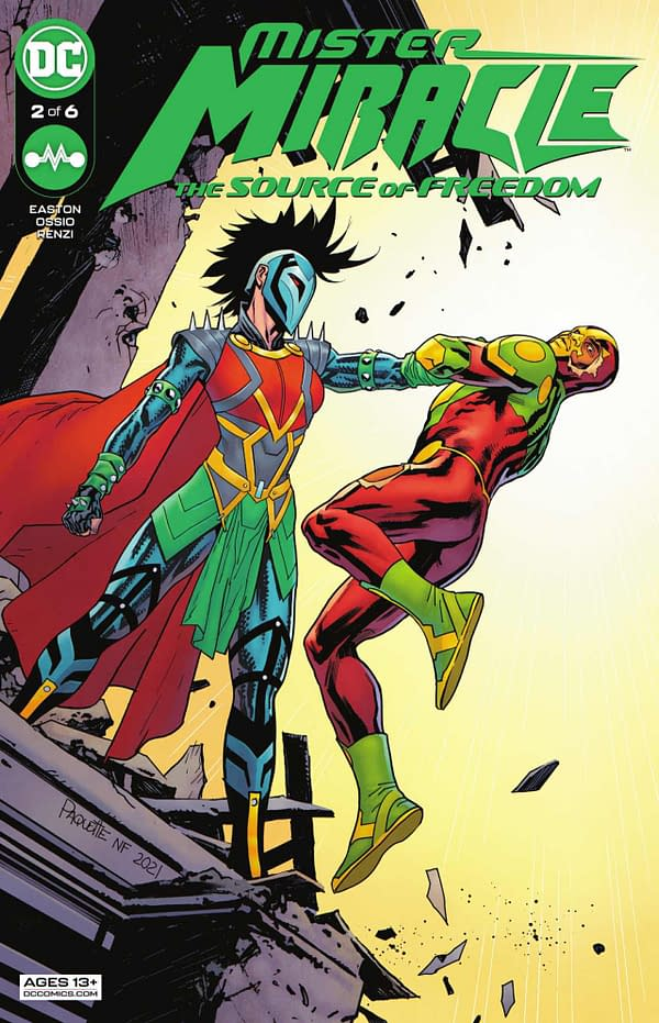 Mister Miracle #2: The Source of Freedom Review: Solid