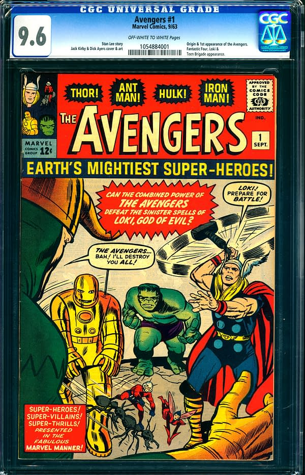 Avengers Mania Is On: Top Copy Of Avengers #1 Goes For Record $250,000