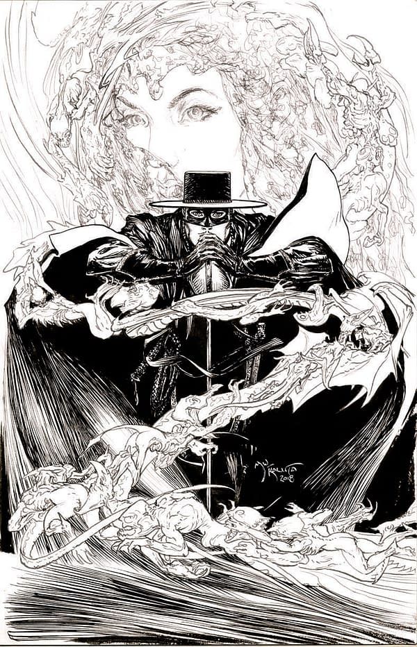 Michael Kaluta Joins American Mythology's Zorro Revival