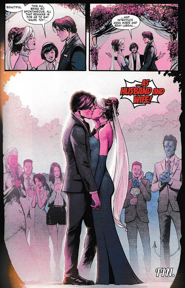 WARNING: That Major X-Men Wedding Spoiler, Revealed in Full
