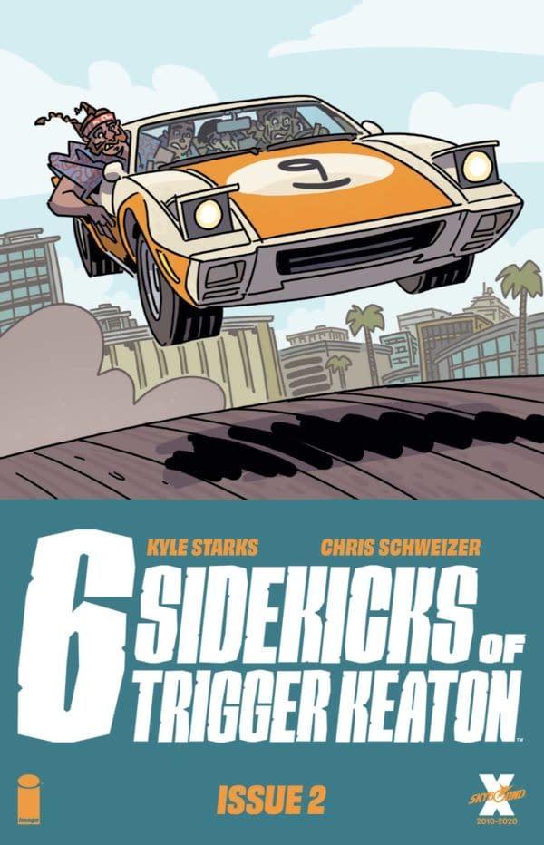 Six Sidekicks Of Trigger Keaton #2 Review: Engaging Work