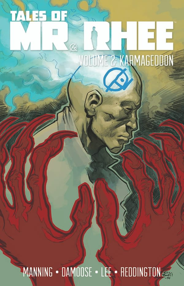 TALES OF MR. RHEE -- Karmageddon -- TPB Cover