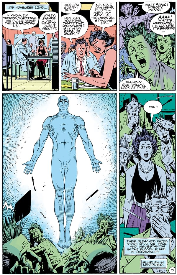 Another Take On Doomsday Clock #1's November 22nd Opening Date From Watchmen