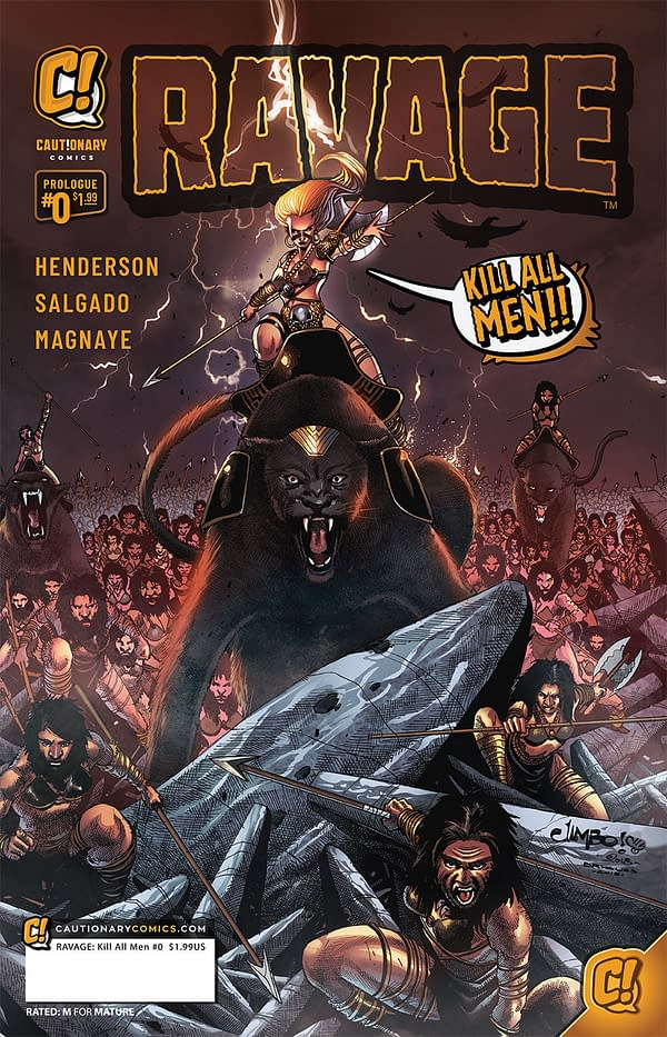 Ravage – Kill All Men, a New Misandrist Comic to Launch at Orlando MegaCon