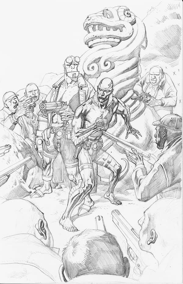 Abe-Sapien-Nowlan-cover-pencils-1