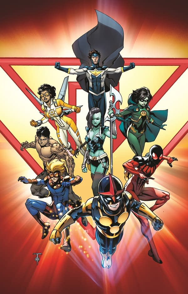 //last line-up of New Warriors //c. Marcus To