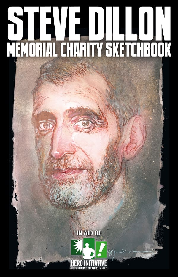 Steve Dillon Sketchbook, Debuted At NYCC, Will Be At MCM London Comic Con Too