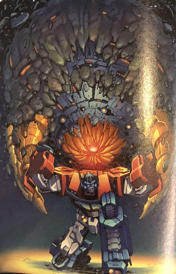 IDW to Cancel Lost Light and Optimus Prime as Unicron Brings Transformers Stories to an End