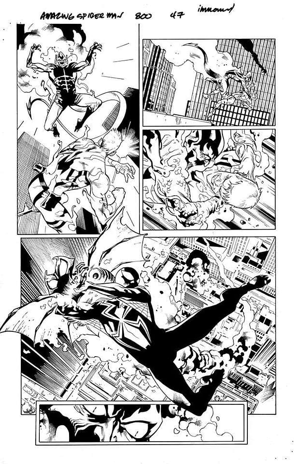 Stuart Immonen Retires from Comics After Amazing Spider-Man #800