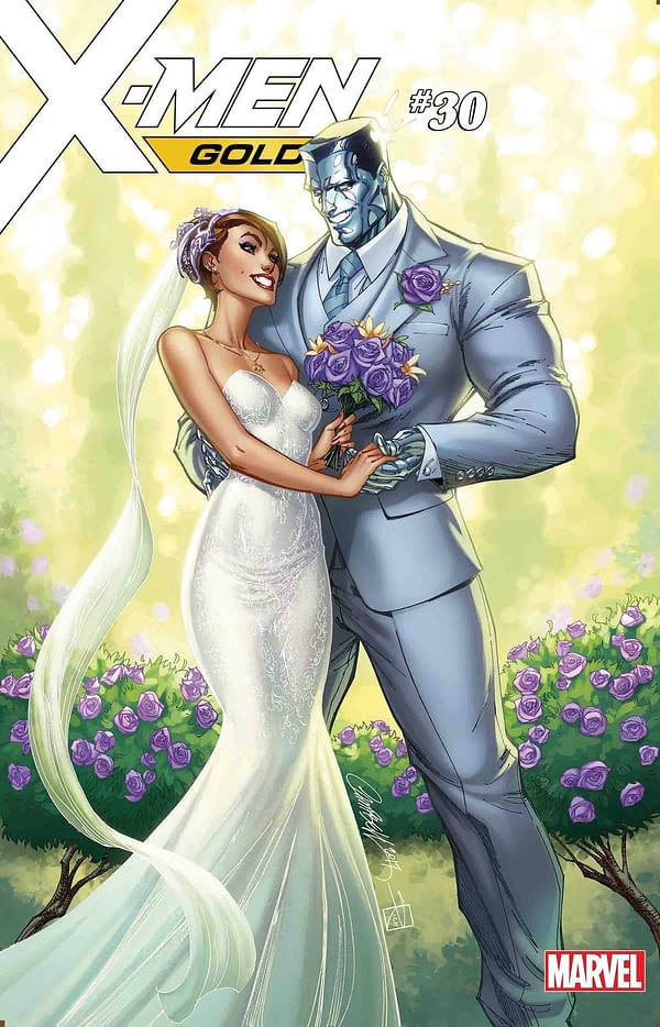 J Scott Campbell Created Fake Covers to Keep The X-Men Gold #30 Spoiler from Marvel Staffers