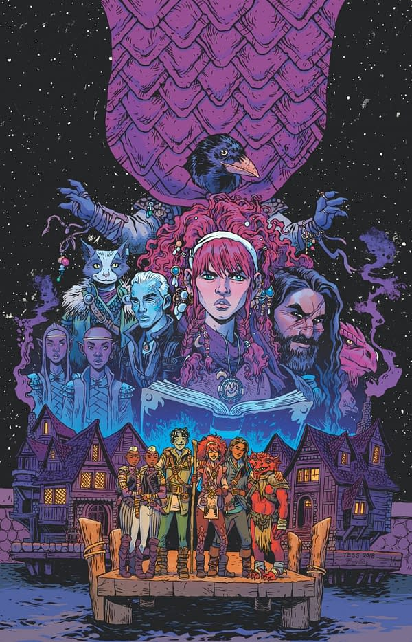 B. Dave Walters and Tess Fowler Launch a Dungeons & Dragons Campaign at IDW in February