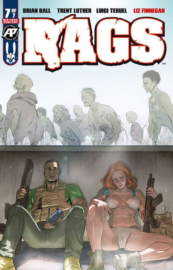 Rags Comes To an End in Antarctic Press August 2020 Solicitations.