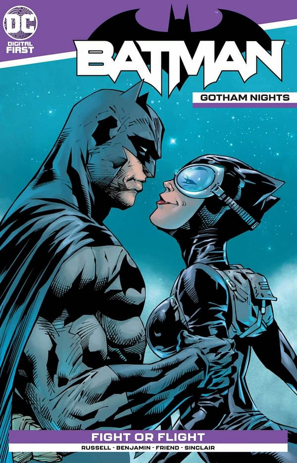 The cover of Batman: Gotham Nights #15. Credit: DC Comics