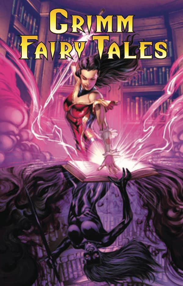 Grimm Fairy Tales #43 cover. Credit: Zenescope Entertainment.