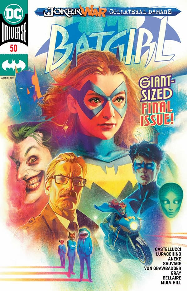Batgirl #50 Review: The People vs. Barbara Gordon