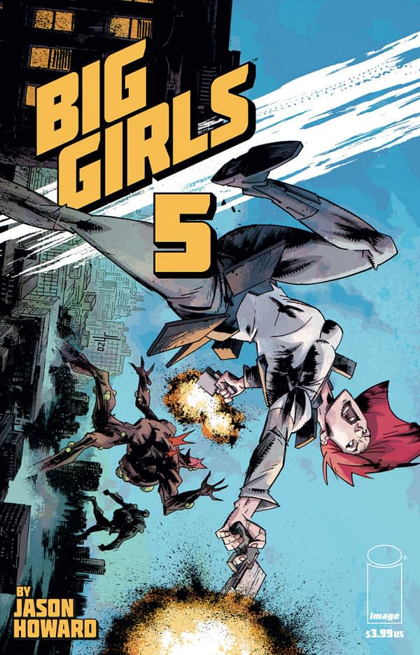 Big Girls #5 Review: High Concept Science Fiction