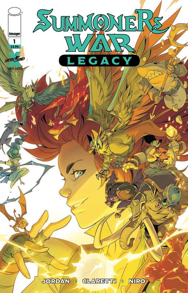 Summoners War: Legacy #1 Review: Pretty Effective