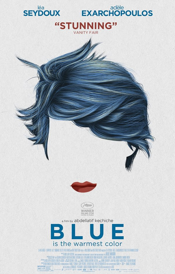Blue is the Warmest Color Alternate Poster