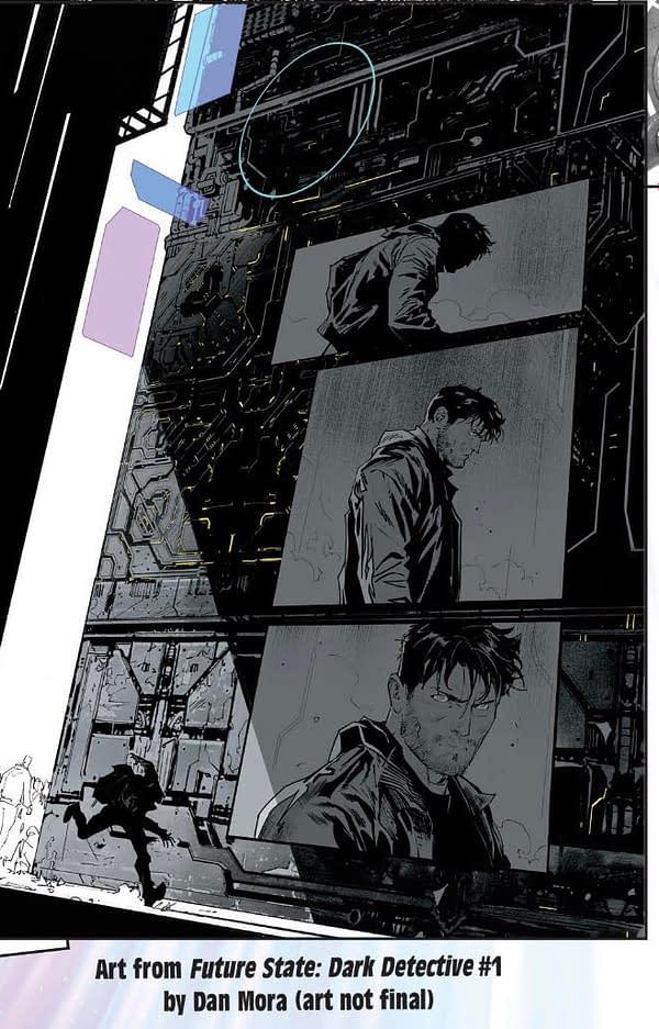 Mayor Nakano? Detective Comics #1031 and Future State Spoilers